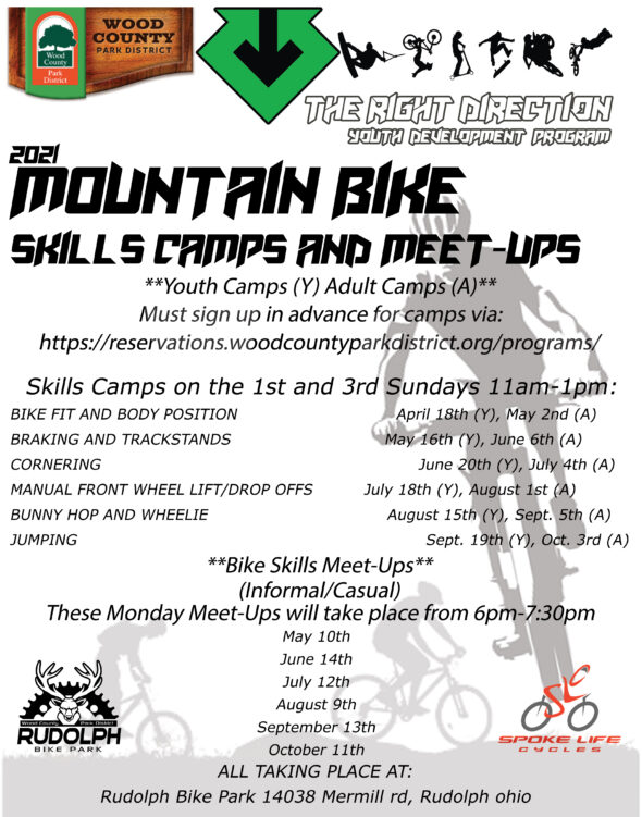 MTB Skills Youth Camp (sign up required) @ Rudolph Bike Park